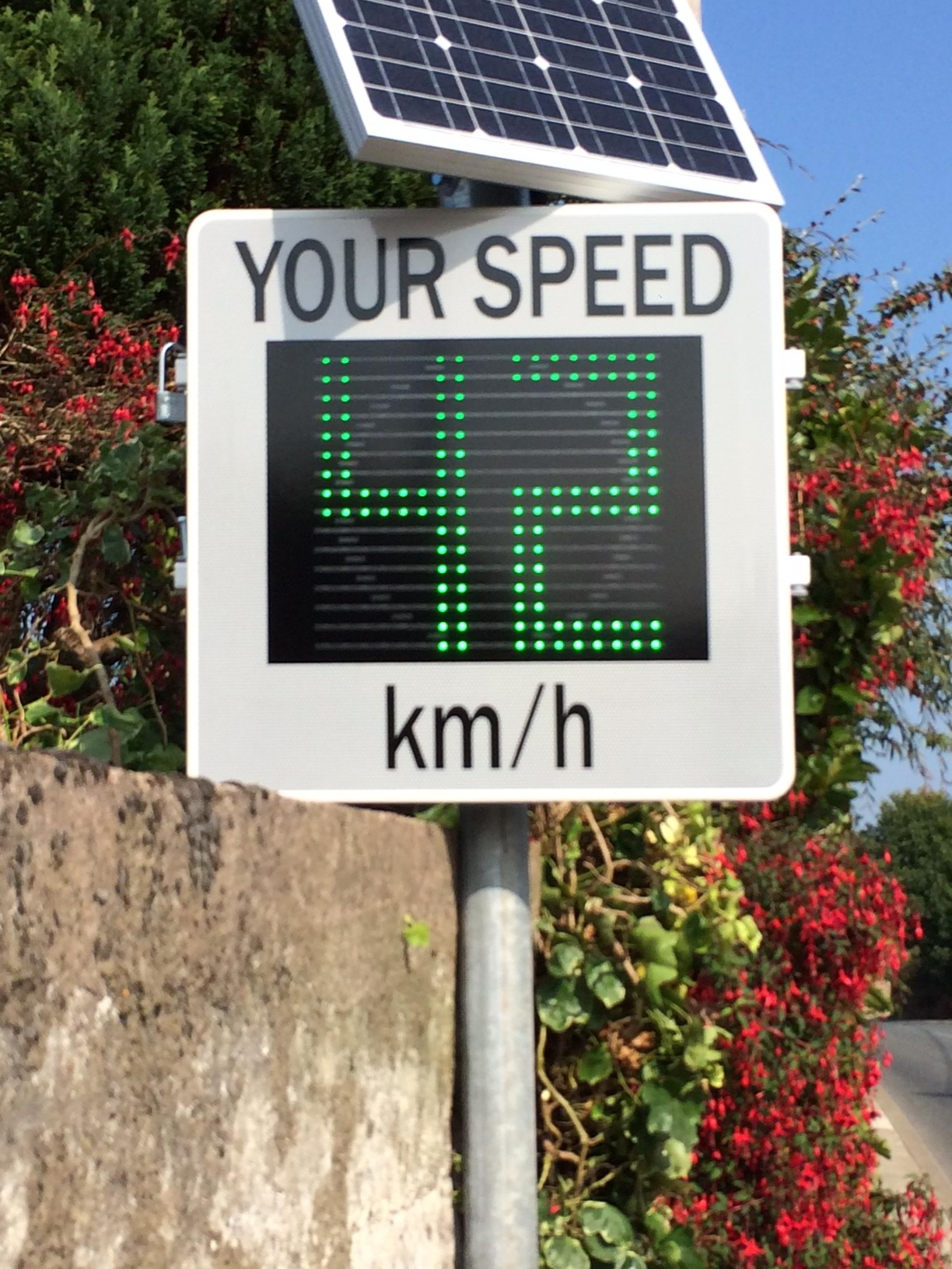Our Products Driver Feedback Signs Speed Sign Radar Sign