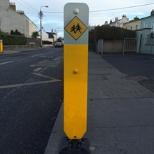 Hazard Marker School Crossing